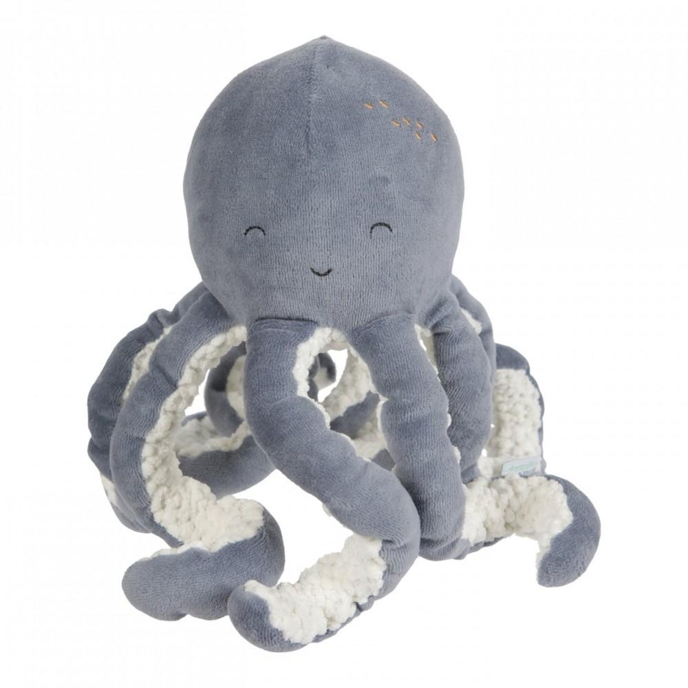 Плюшен Октопод за Гушкане Ocean Blue