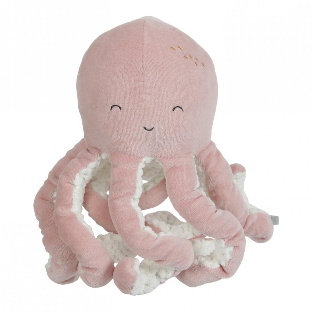 Плюшен Октопод за Гушкане Ocean Pink