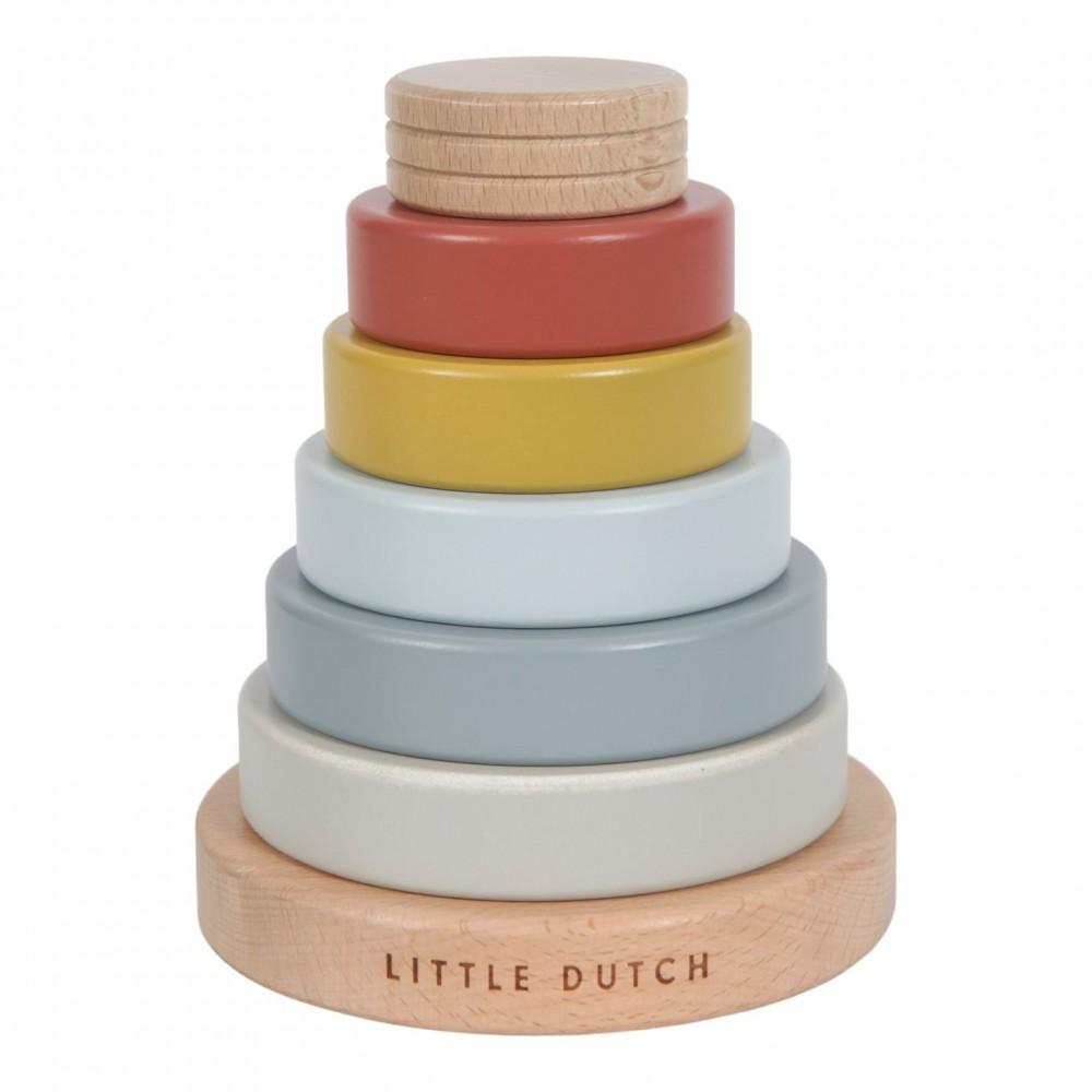 Дървена Низанка Pure and Nature Little Dutch