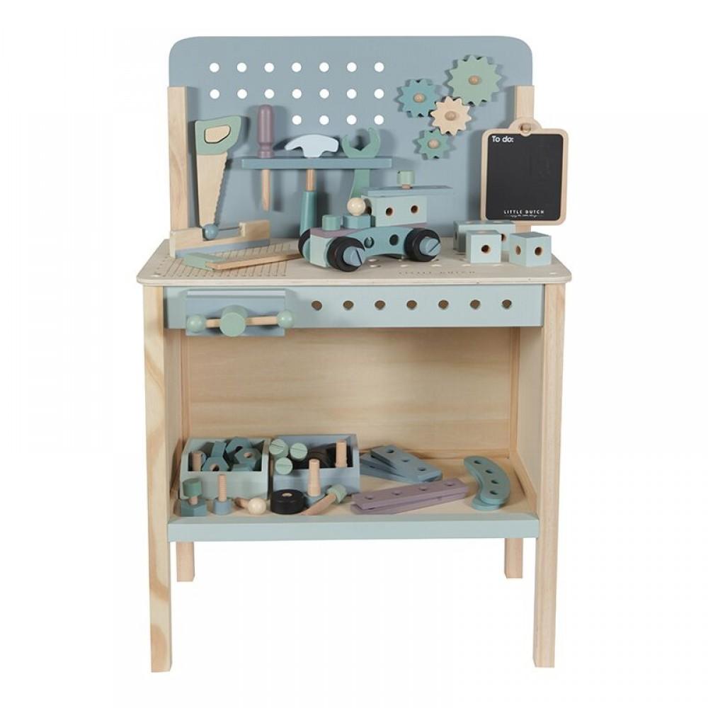 Дървена Работилница с Инструменти  Little Dutch
