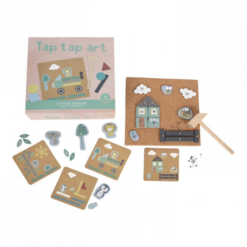 Креативна игра с Чукче Tap Tap Art