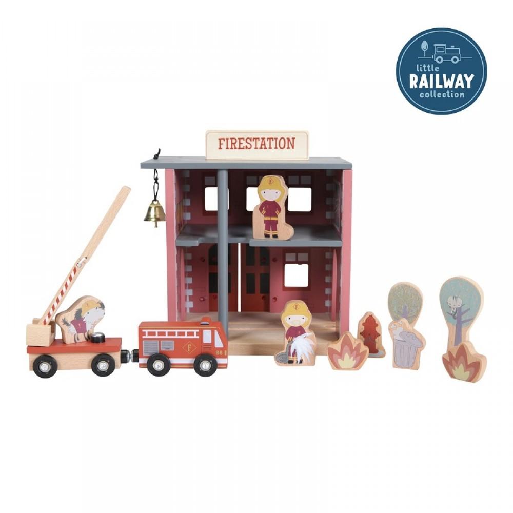 Дървена Пожарна - Разширение за Железопътна Линия