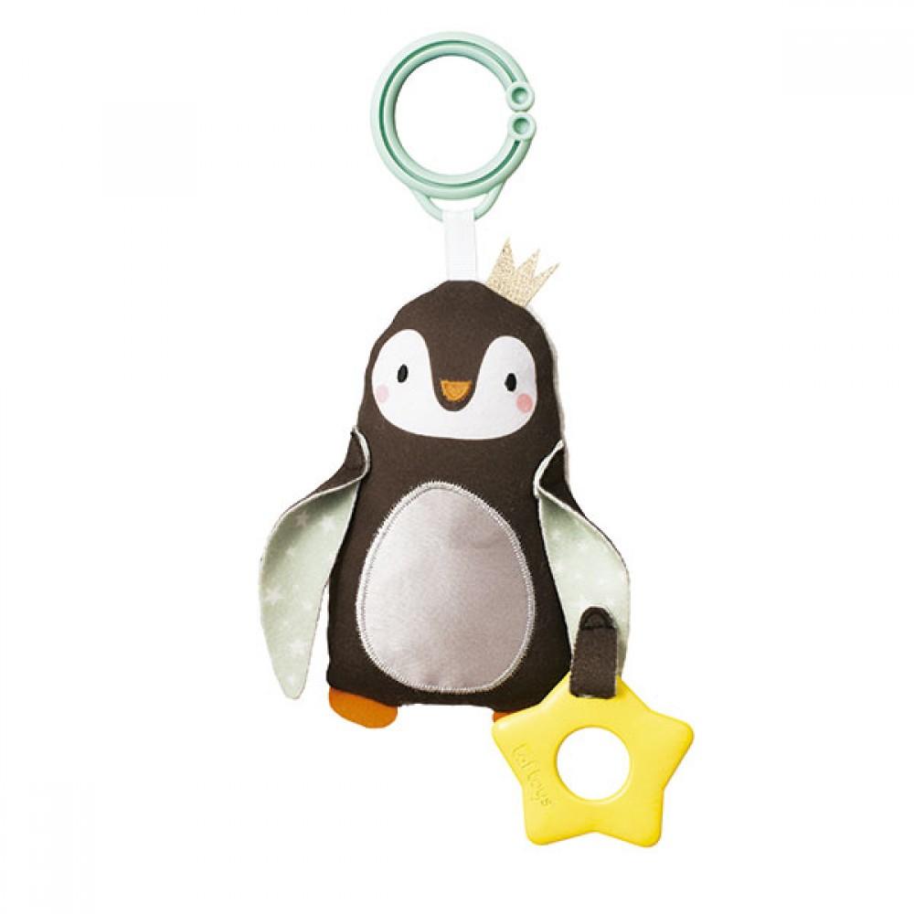 Дрънкалка с Гризалка Пингвин