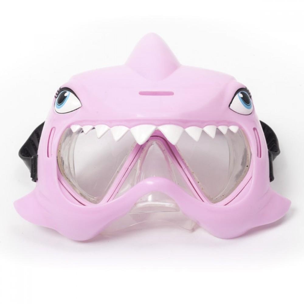 Маска за Гмуркане Розова Акула
