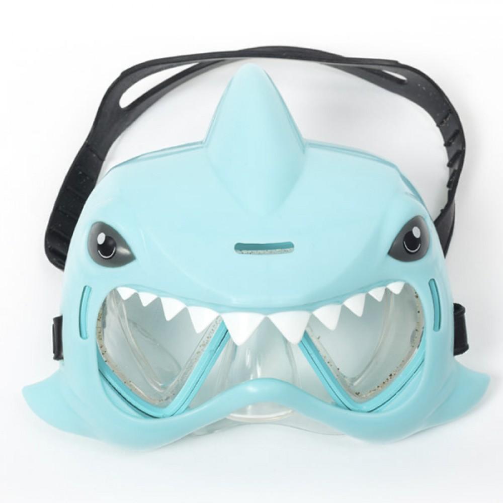 Маска за гмуркане Синя Акула