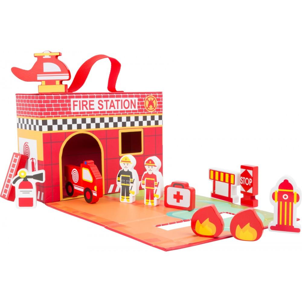 Кутия за Игра Пожарна