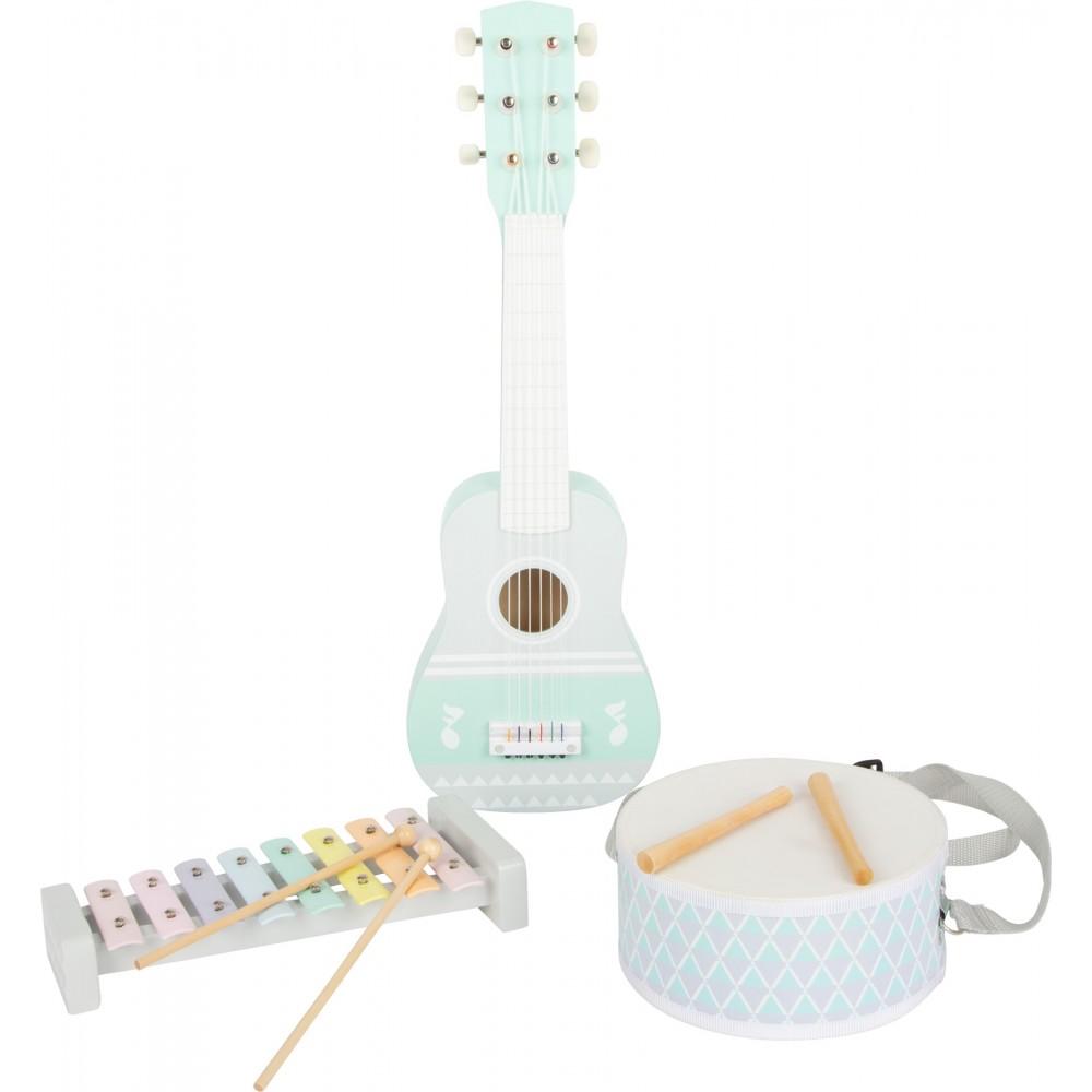 Комплект Музикални Инструменти Пастел