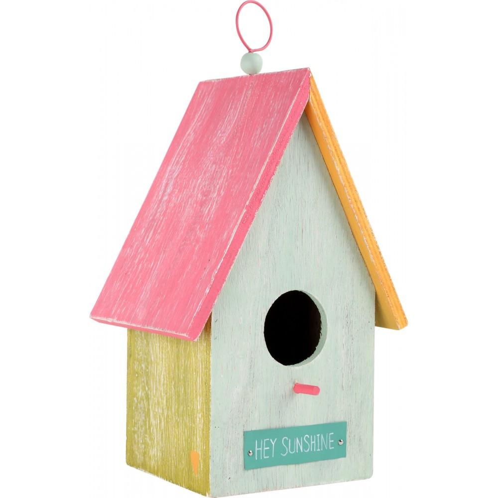 Дървена Къщичка за Птици Hey Sunshine