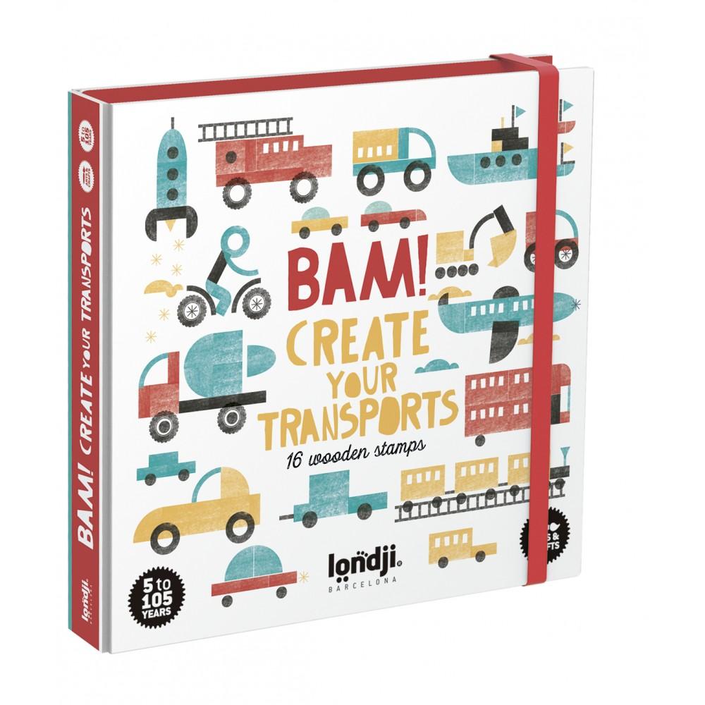 Игра с Печати BAM! Creat Your Transports