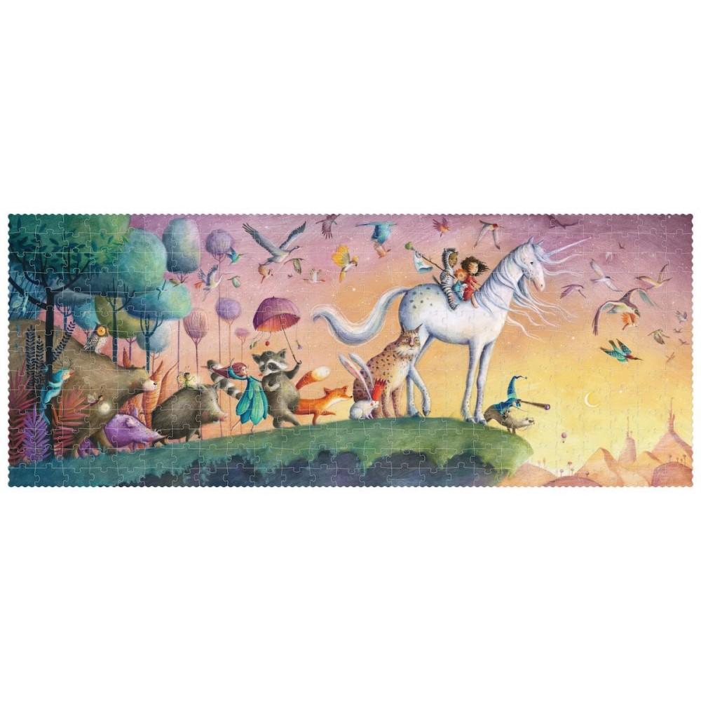 Голям Пъзел с Брокат Еднорог My Unicorn