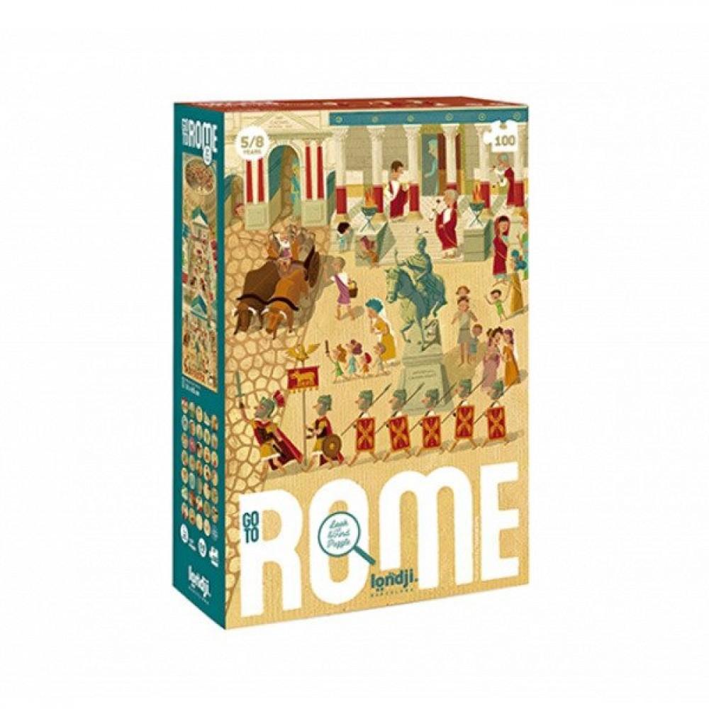 Пъзел Игра GO TO ROME 100 части