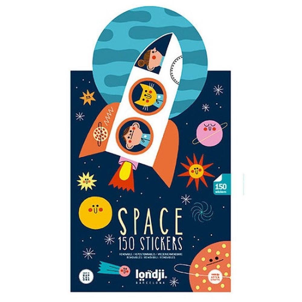 Стикери Space 150бр