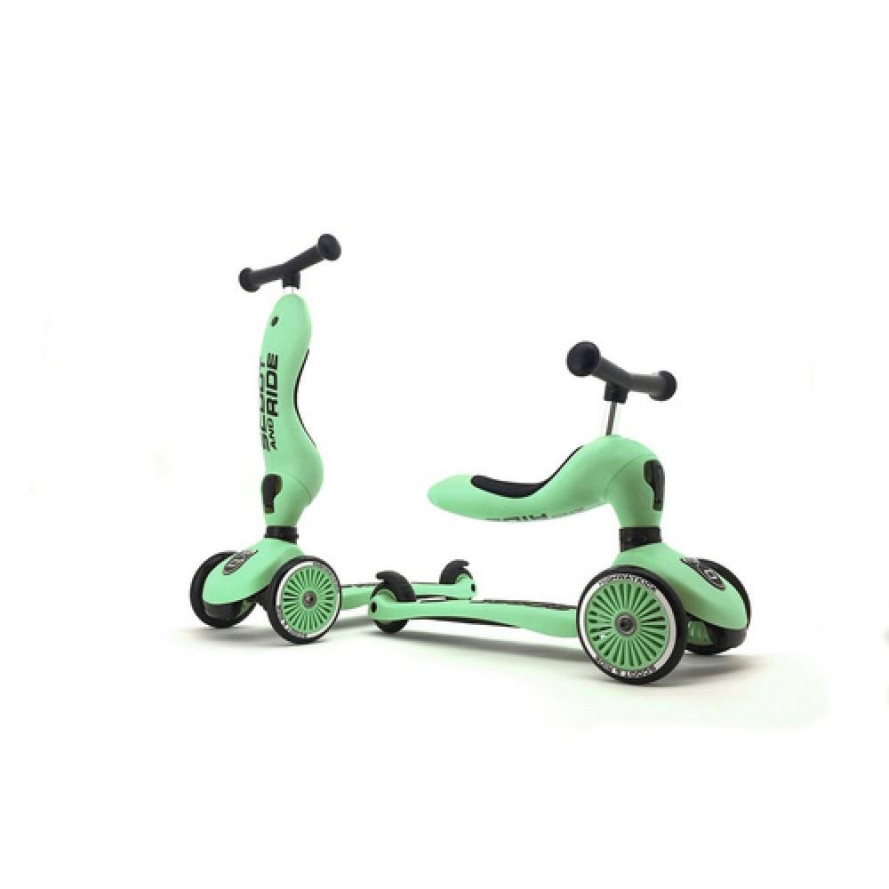 Детска тротинетка Scoot & Ride, 2 в 1: скутер и тротинетка Kiwi