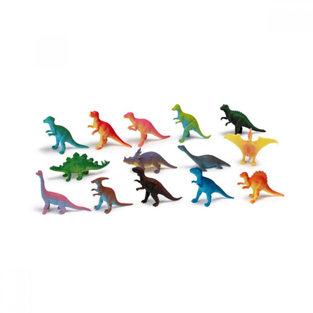 Комплект 14 Малки Динозаври
