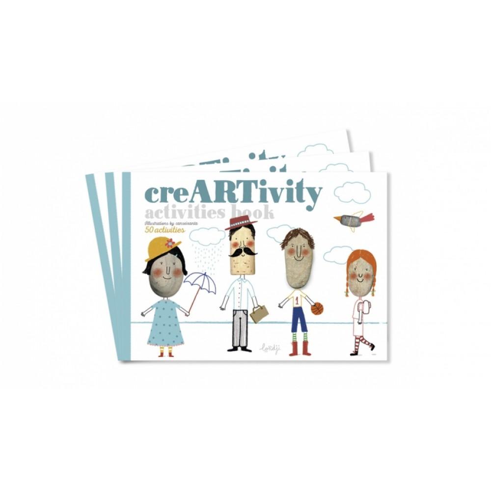 Детска Креативна Книга с Илюстраци creARTivity