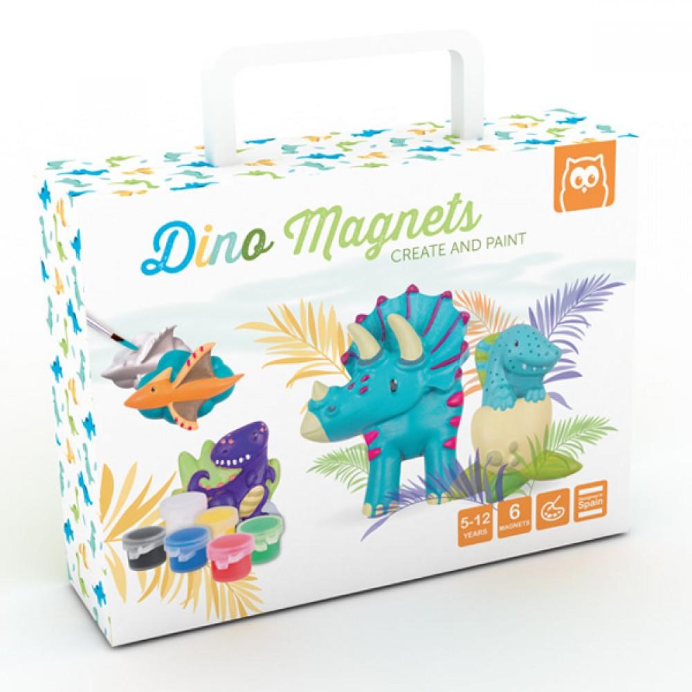 Магнити Динозаври – Създай и Оцвети