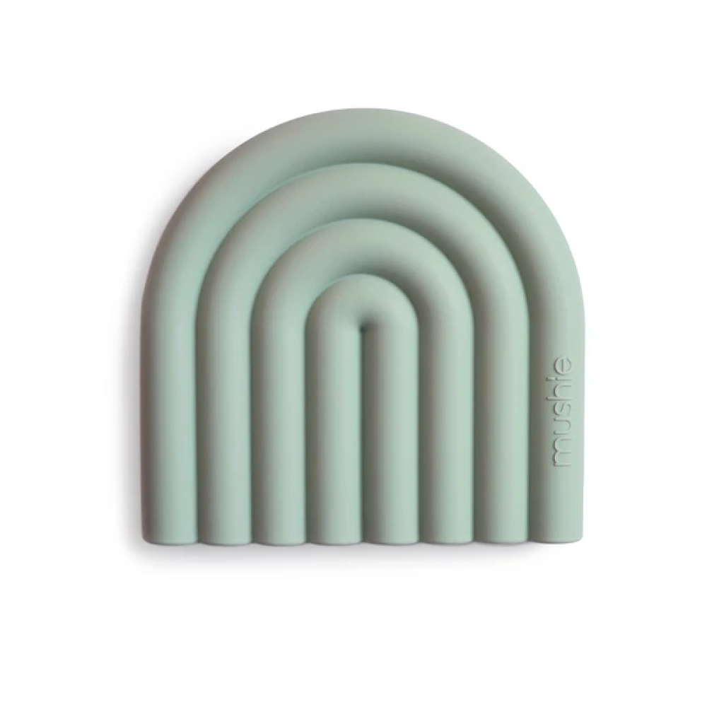 Силиконова Чесалка за Зъби Rainbow Cambridge Blue Mushie