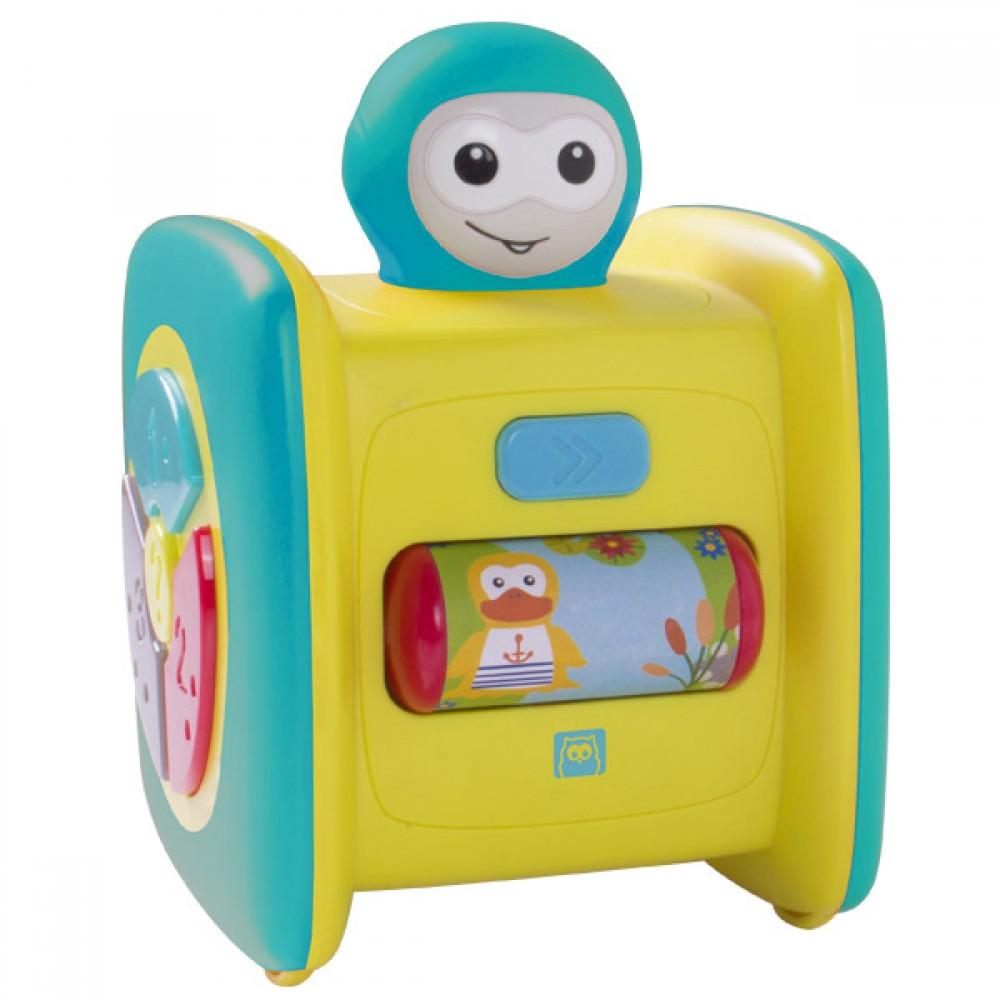 Моят Първи Робот - Моторна, Музикална и Светлинна Играчка