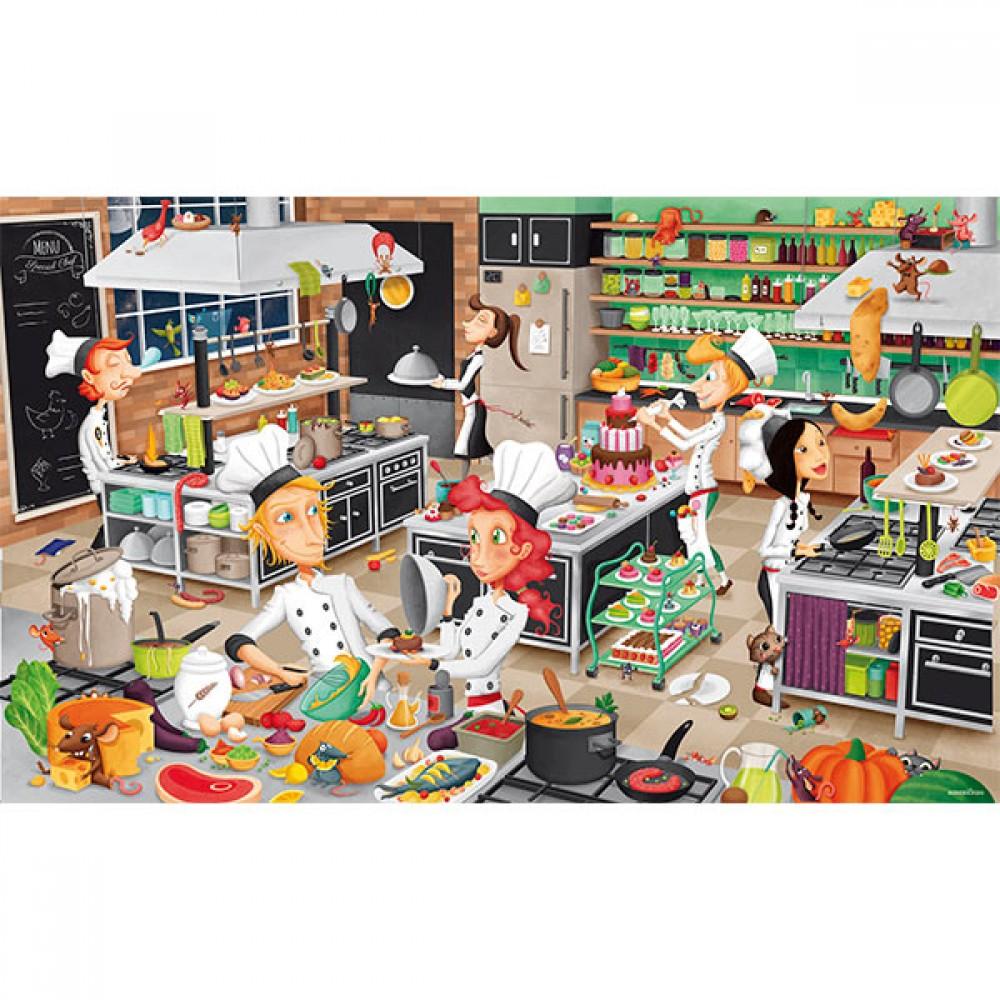 Пъзел Кухня 200 части