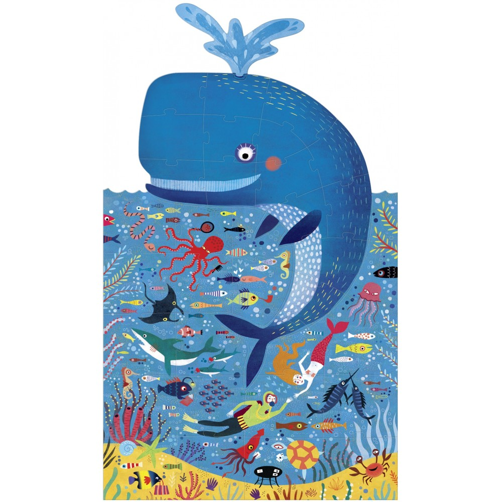 Голям Пъзел с Нестандартна Форма - MY BIG BLUE