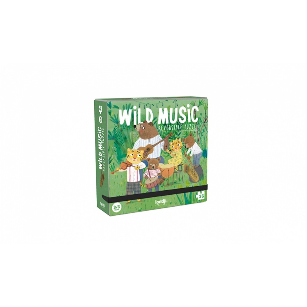 Пъзел WILD MUSIC PUZZLE